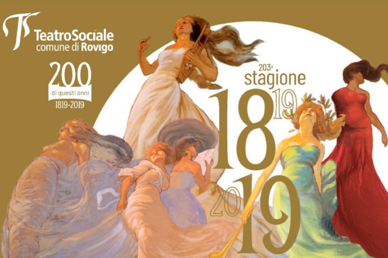 Stagione 18/19 Teatro Sociale di Rovigo
