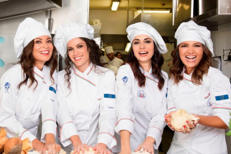 """""""Belle ripiene"""", quattro amiche cucinano sui palcoscenici di tutta Italia"""