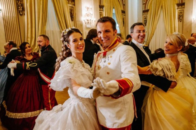 Gran ballo di Sissi: Danza Storica al Palazzo Brancaccio di Roma