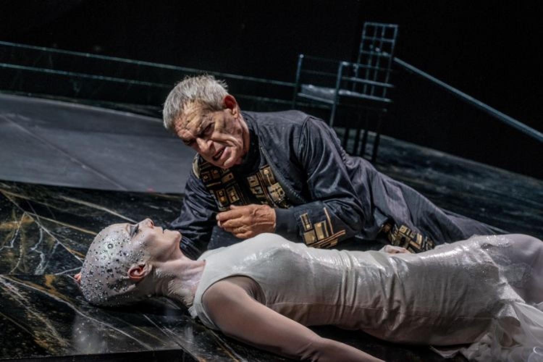 Il regista Luca De Fusco a Roma con la Salomè di Oscar Wilde