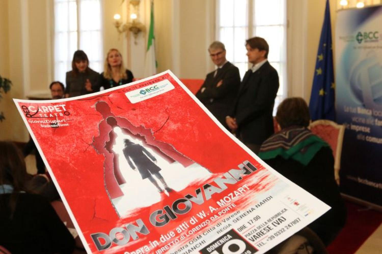 Con il Don Giovanni di Mozart torna l'opera lirica a Varese dopo 70 anni