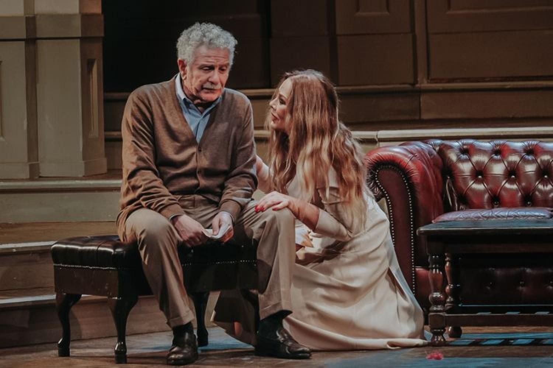Ornella Muti al Teatro Quirino di Roma con 'La Governante' di Brancati