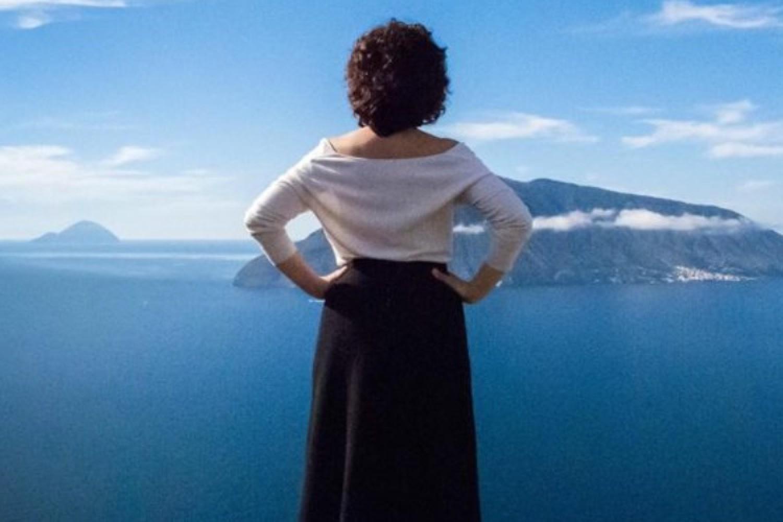 """Francesca Pica in """"Mare, mirabolanti antichi racconti eoliani"""""""