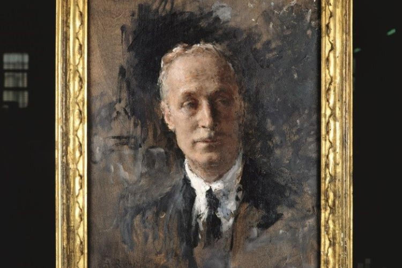 Vittorio Gnecchi Ruscone, ritratto di Arturo Rietti