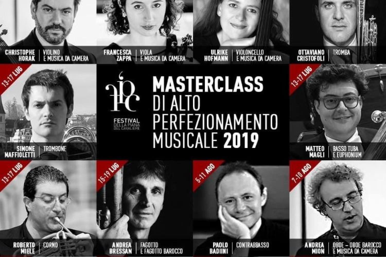 Festival della Piana del cavaliere: Masterclass di Alto Perfezionamento Musicale