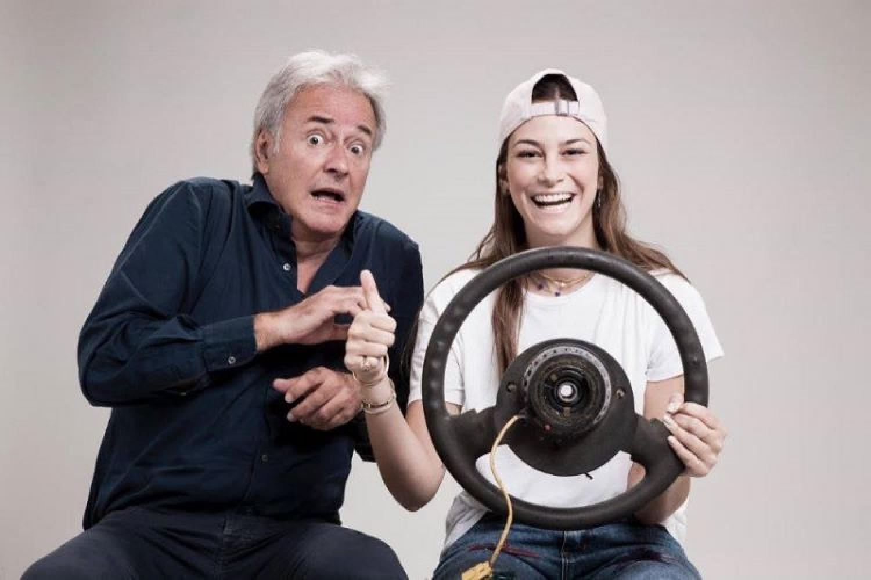 Corrado Tedeschi a teatro con la figlia Camilla: è Partenza in salita!