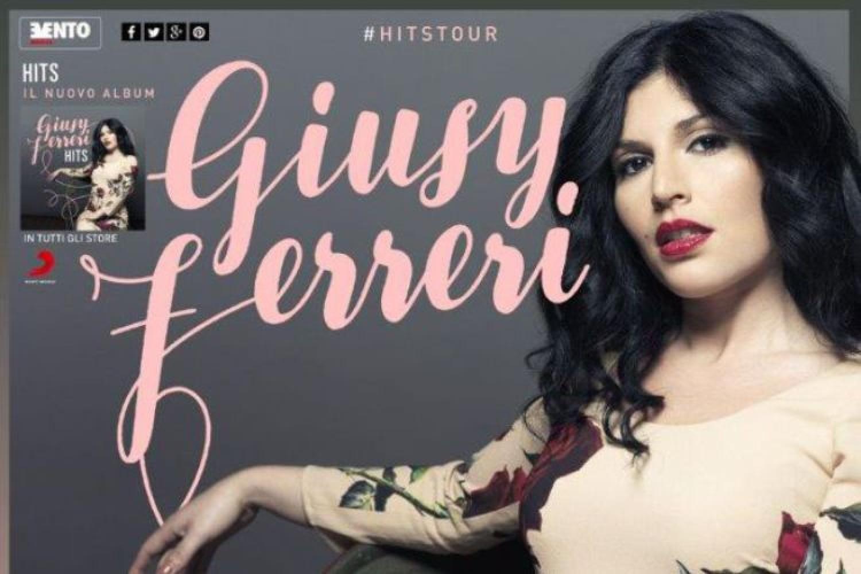Giusy Ferreri, le date del tour 'Hits'