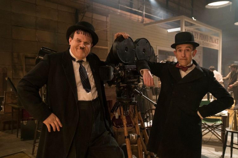 John C. Reilly (Oliver Hardy) e Steve Coogan (Stan Laurel)