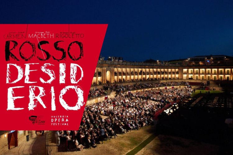 Carmen, Macbeth, Rigoletto: il Macerata Opera Festival 2019 è #rossodesiderio