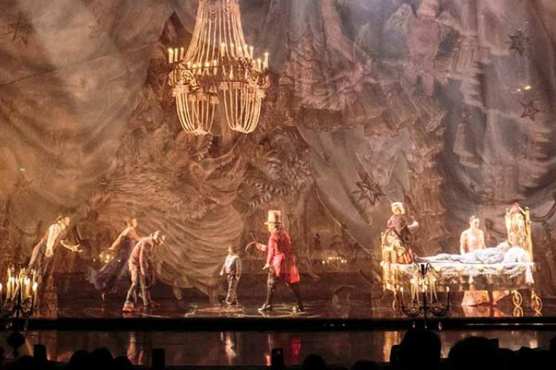 Corteo del Cirque du Soleil arriva in Italia