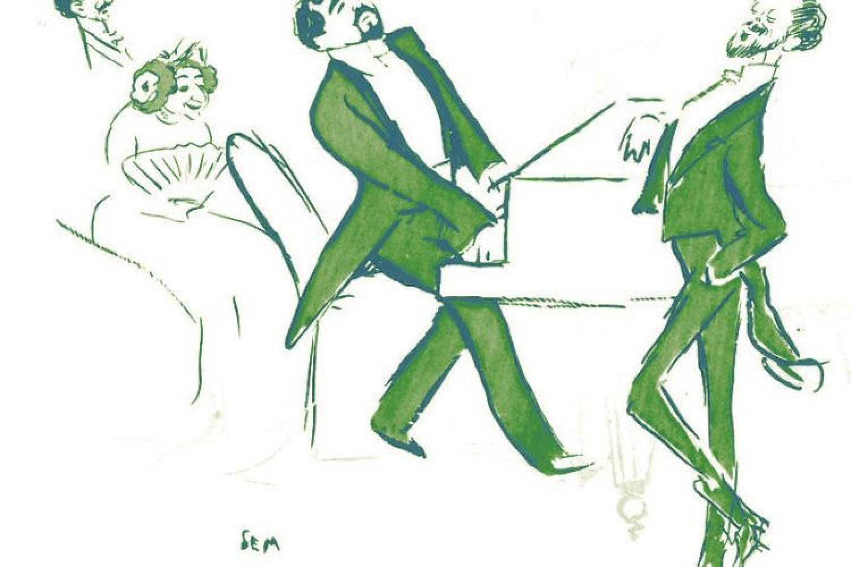 Caricatura di Reynaldo Hahn