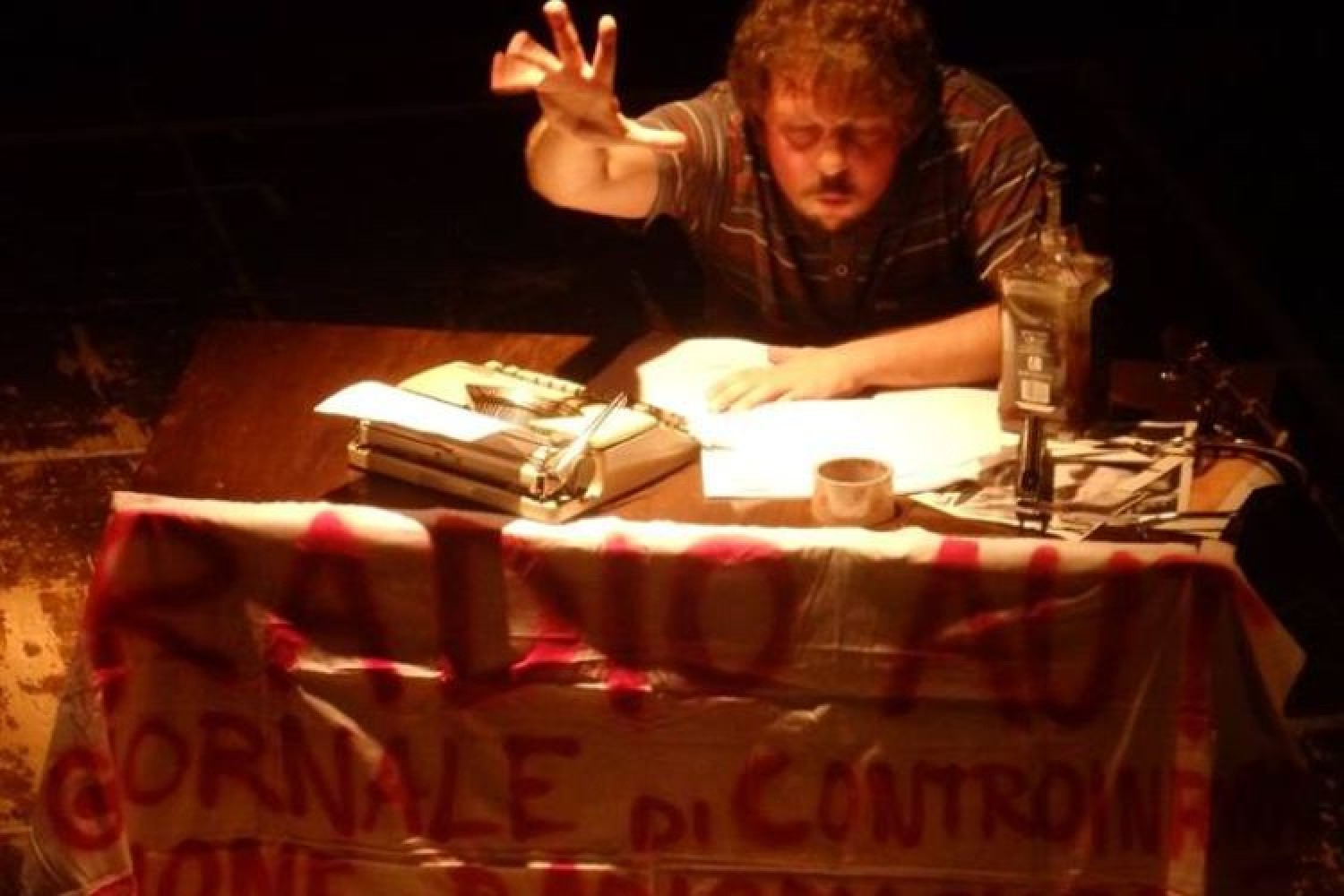 Radio Aut: la lotta di Peppino Impastato all'Ar.ma Teatro