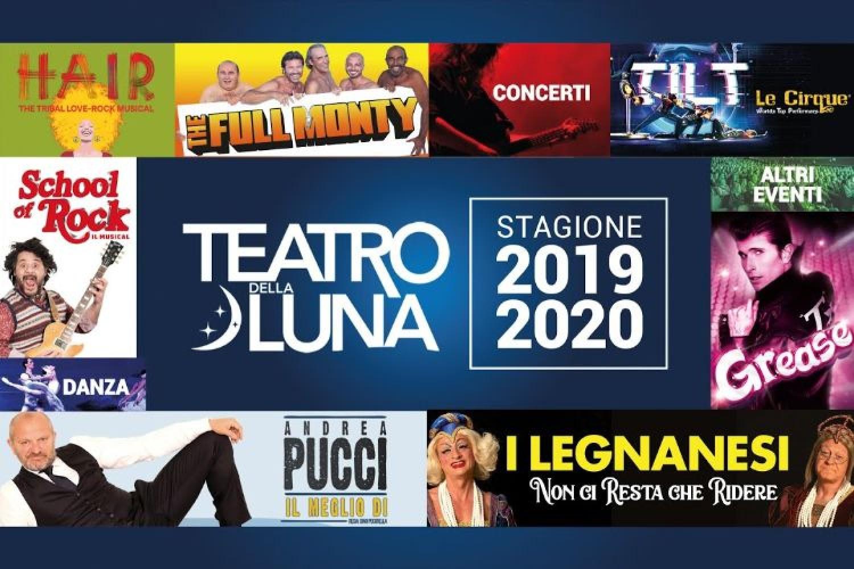 Da Pucci ai grandi musical, la ricca stagione del Teatro della Luna