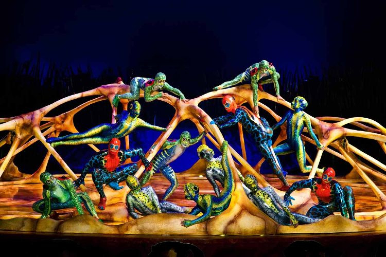Le Cirque du Soleil in Totem: l'evoluzione della specie affidata a Lepage