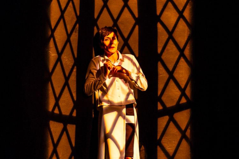 l'attrice Elsa Bossi in Ada, la solitaria