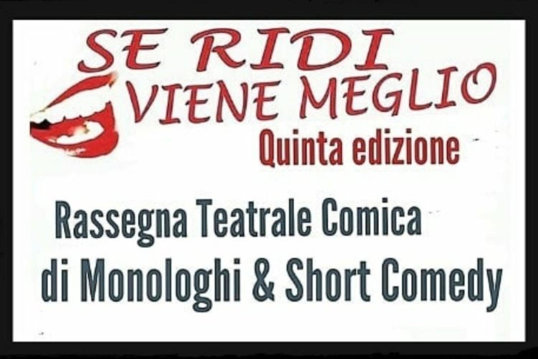 """La Compagnia Teatrale IPOSCENIO indice la Quinta Edizione del premio teatrale: """"SE RIDI VIENE MEGLIO"""""""