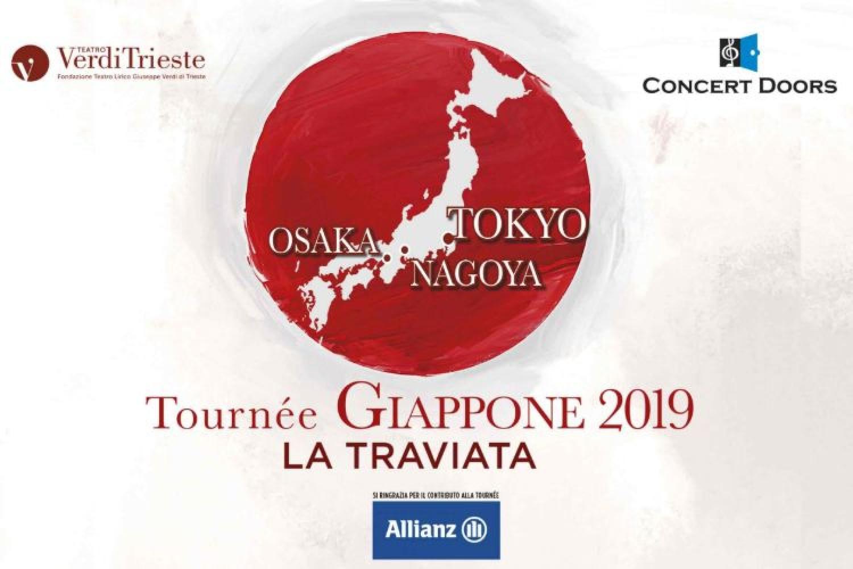 Comincia in Giappone la stagione 2019/2020 del Teatro Verdi di Trieste