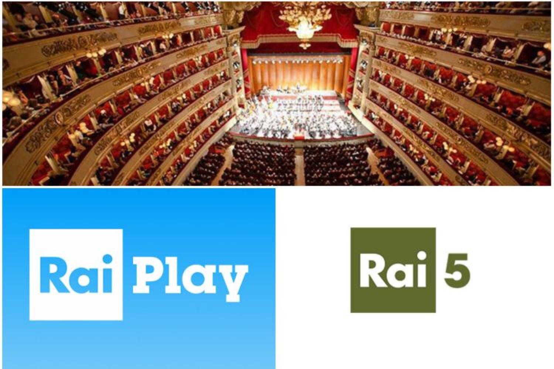 #IoRestoacasa: 30 spettacoli della Scala su RaiPlay e Rai5
