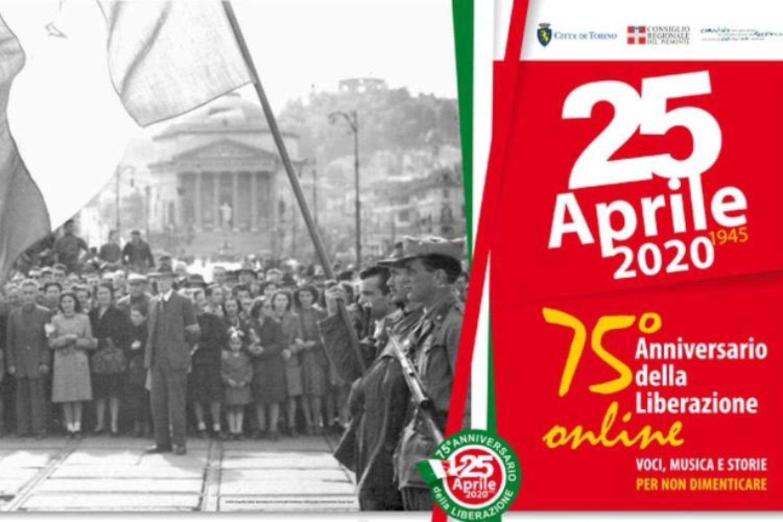 Torino rinnova la memoria della Liberazione sul web