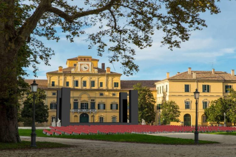 Teatro all'aperto a Palazzo Ducale