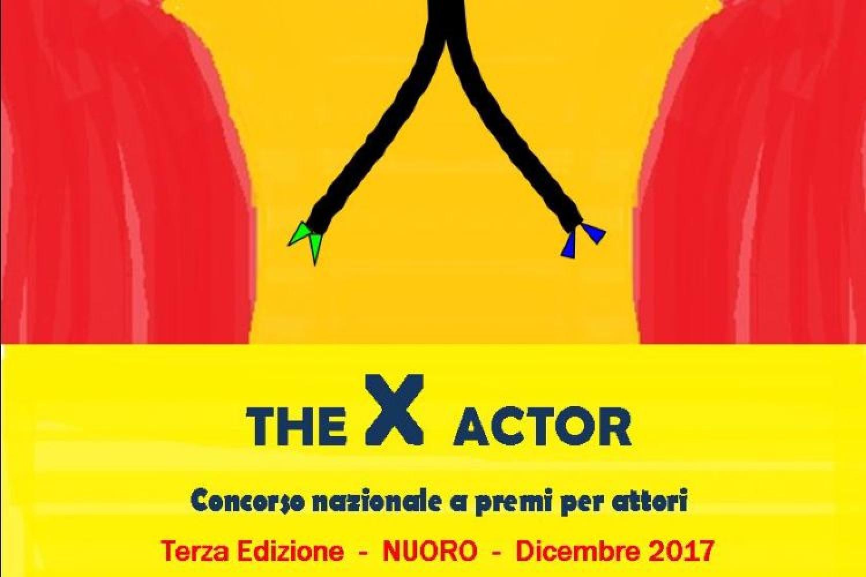 The X Actor - Concorso nazionale per attori a Nuoro