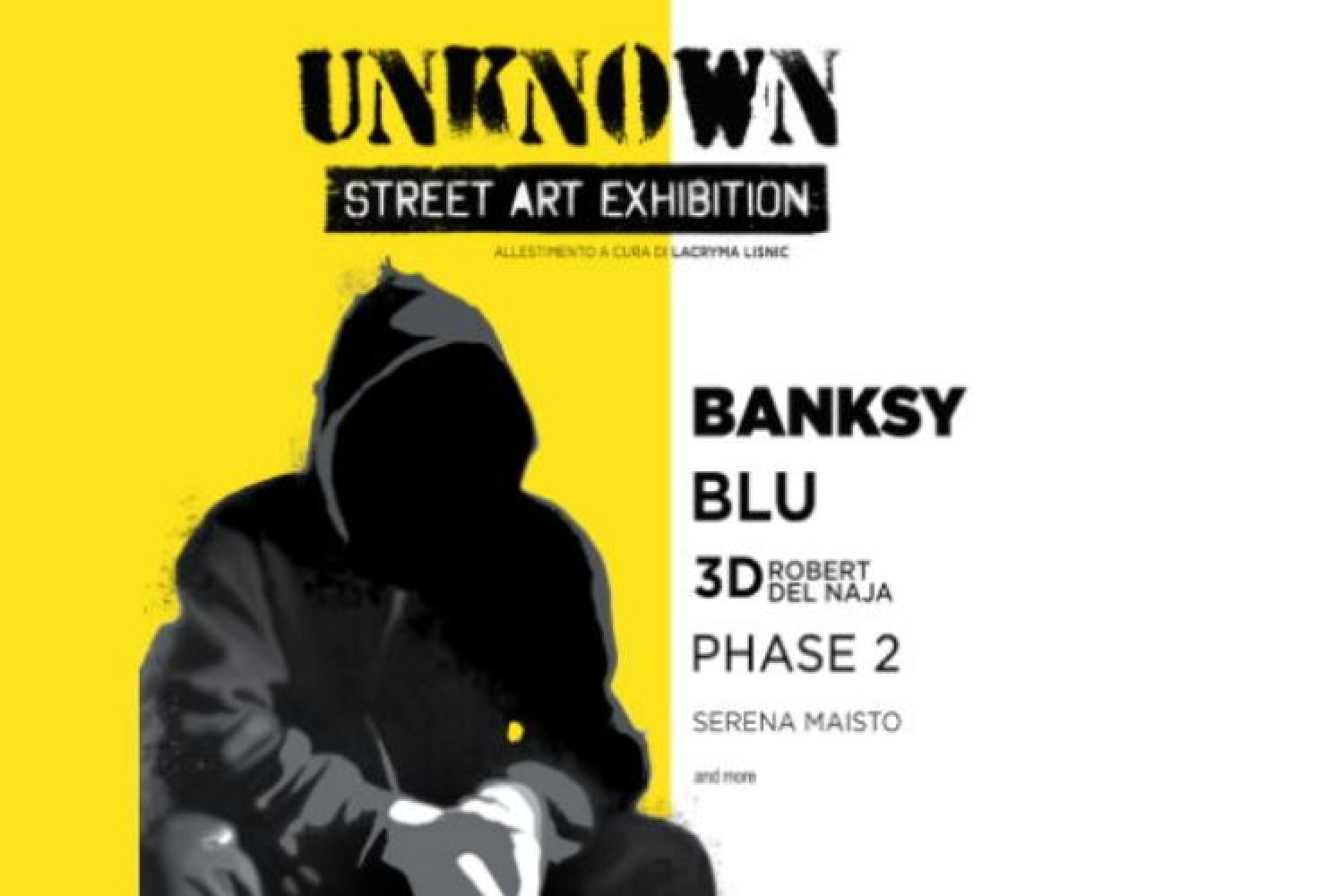 Unknown  – Street Art Exhibition