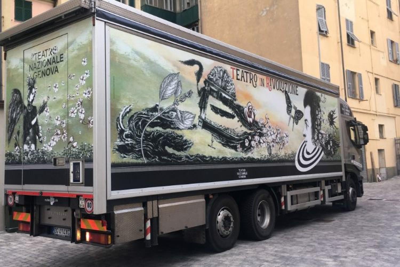TIR - Teatro in Rivoluzione: parte da Genova il teatro viaggiante