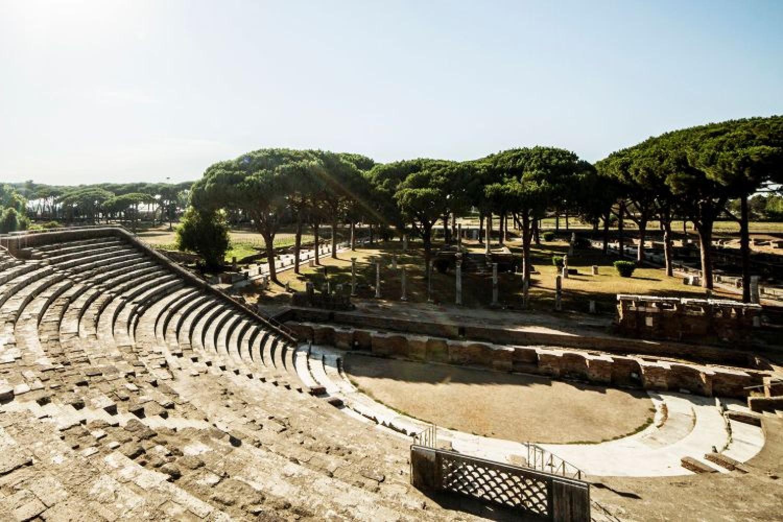Teatro Romano, Ostia
