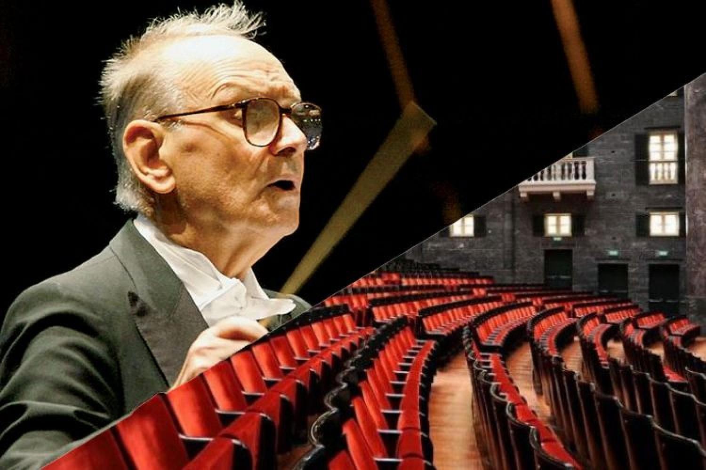 900 spettatori per l'ultimo concerto di Morricone: protagoniste Genova e le vittime del Ponte Morandi