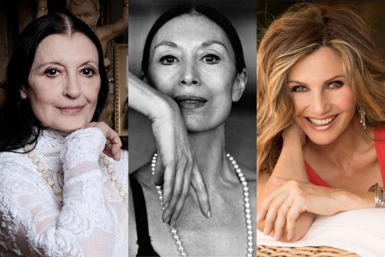 Carla Fracci, Lucia Savignano, Lorella Cuccarini