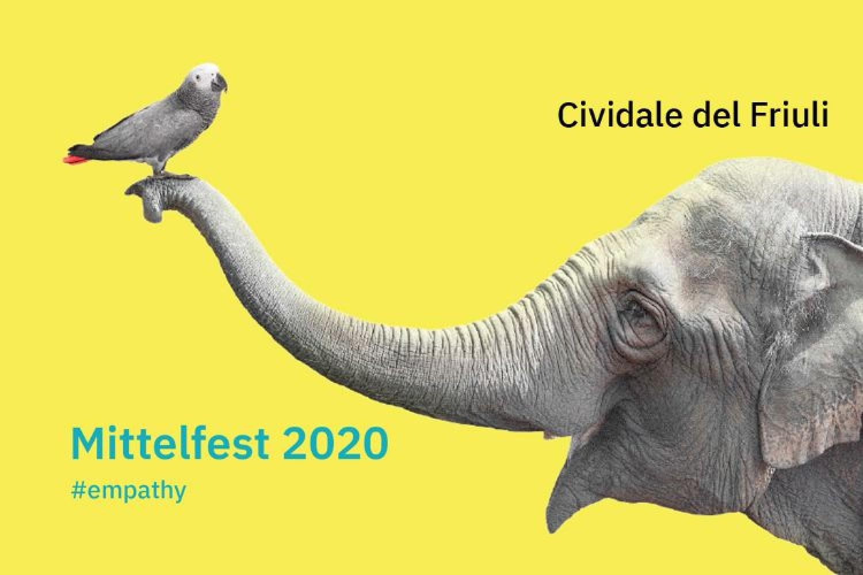 L'uccellino e l'elefante. Il simbolo curioso del Mittelfest 2020