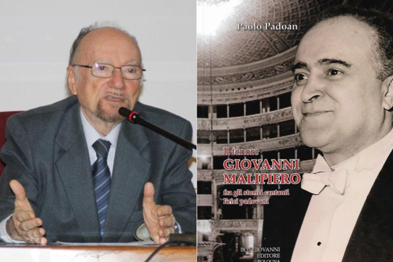 Musica in libreria: Giovanni Malipiero, il grande tenore ricordato nel libro di Paolo Padoan