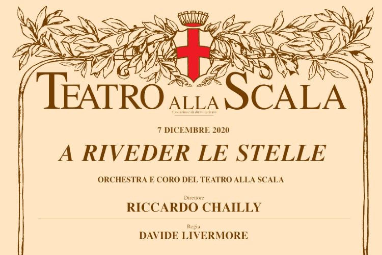 """""""A riveder le stelle"""": il 7 dicembre il Teatro Alla Scala è su Rai Uno"""