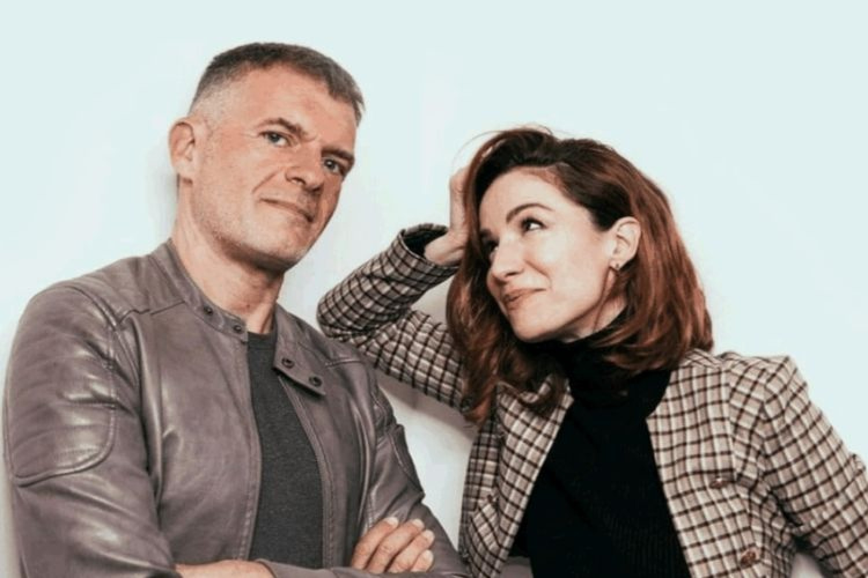 Stefano Massini e Andrea Delogu