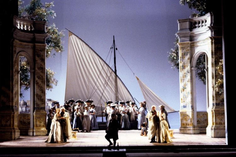 Così fan tutte di Mozart in streaming dal Teatro alla Scala
