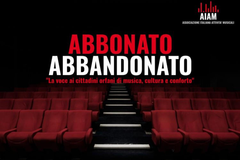 """Centoquindici """"Abbonati Abbandonati"""" lanciano un appello per la ripresa delle attività musicali"""