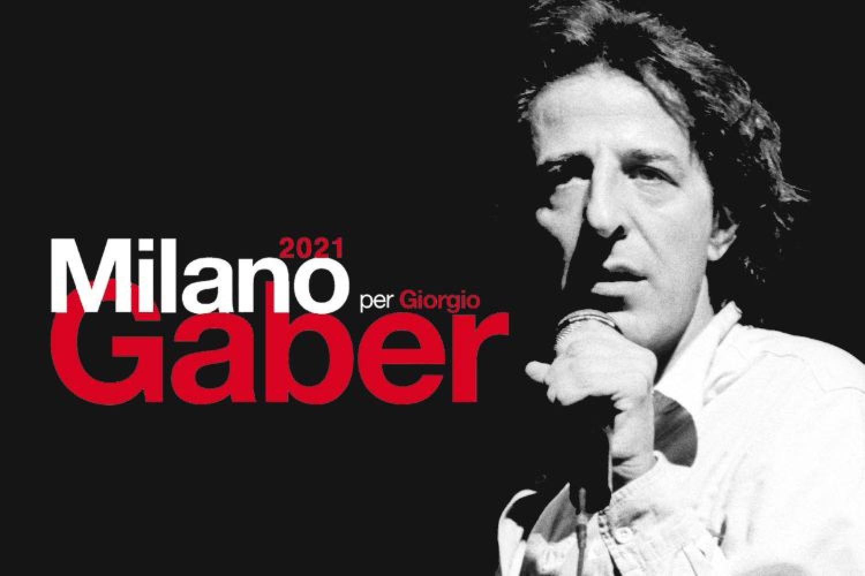 Milano per Giorgio Gaber 2021, torna la manifestazione dedicata al signor G