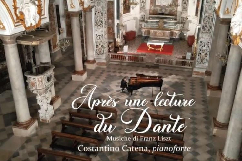 Gli Amici della Musica di Trapani per il Dantedì: Costantino Catena suona Liszt
