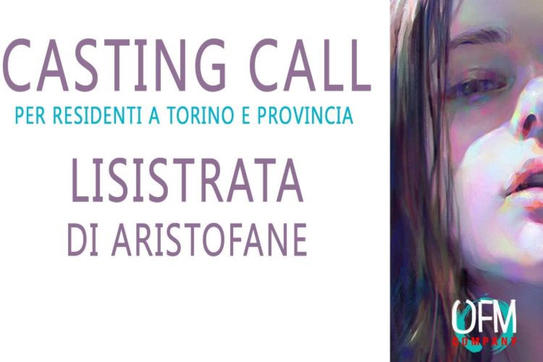 Produzione OfmCompany di Torino: casting per Lisistrata di Aristofane