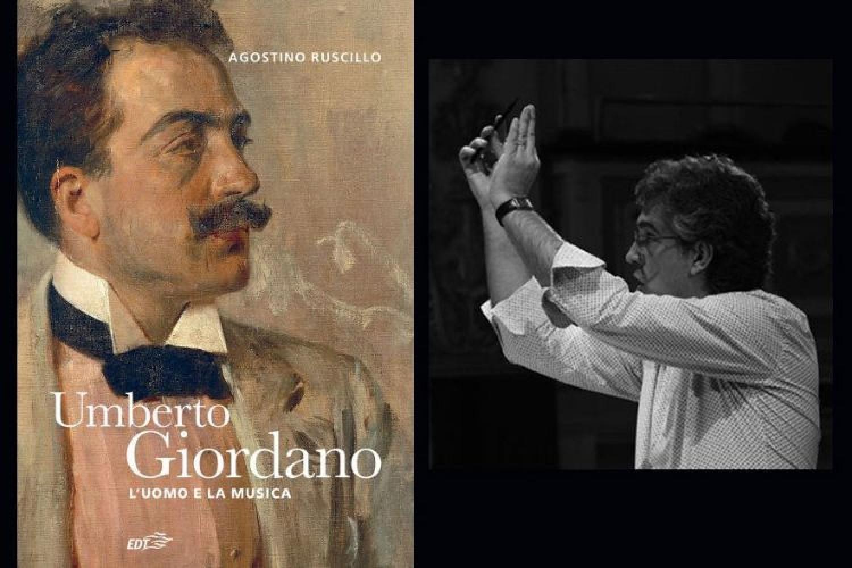 La copertina del libro e Agostino Ruscillo (autore)