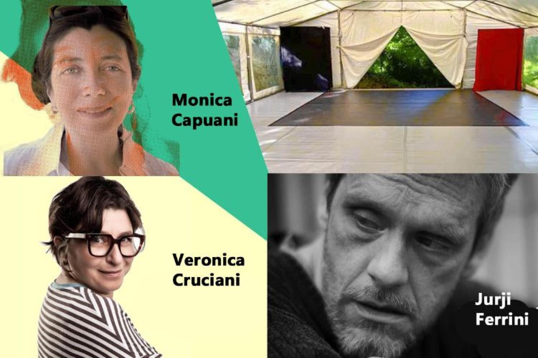 Monica Capuani, Veronica Cruciani e Jurji Ferrini