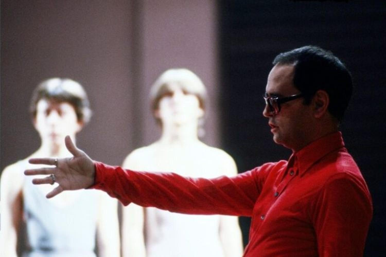 Sylvano Bussotti in un'immagine degli anni '70