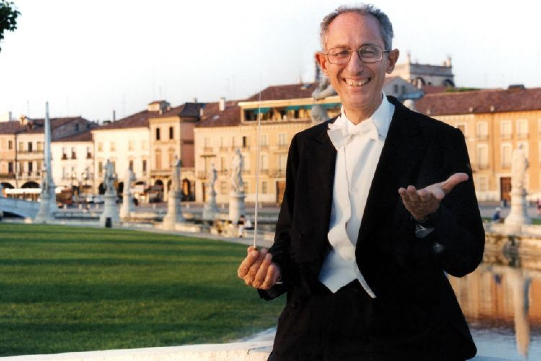 Claudio Scimone nella sua Padova