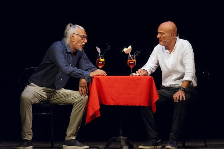 Giogio Alberti, Claudio Bisio