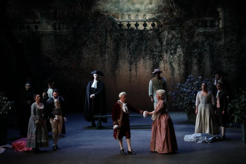 Sempre coinvolgenti le Nozze di Figaro di Strehler alla Scala