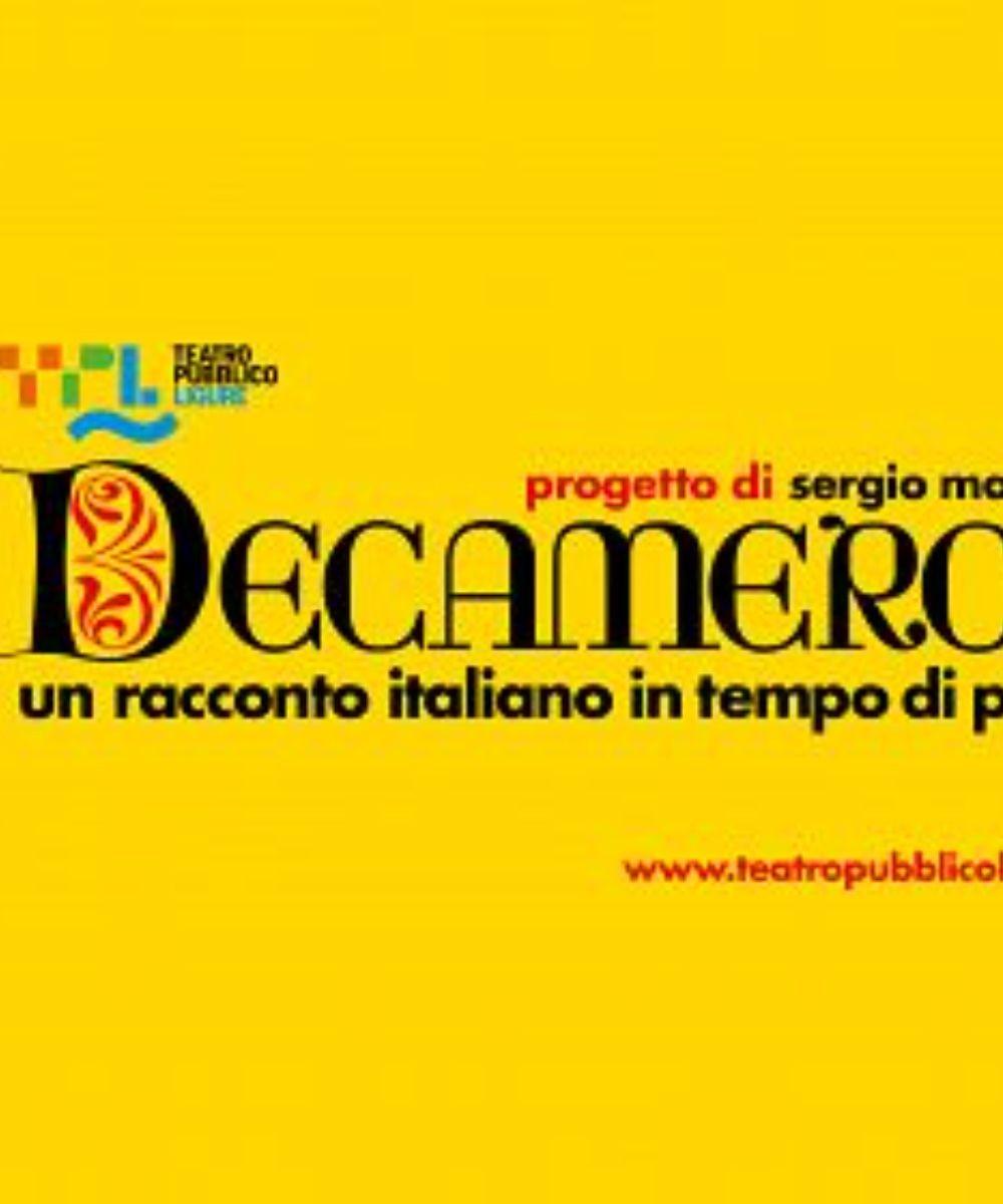 Decameron - Un racconto italiano in tempo di peste