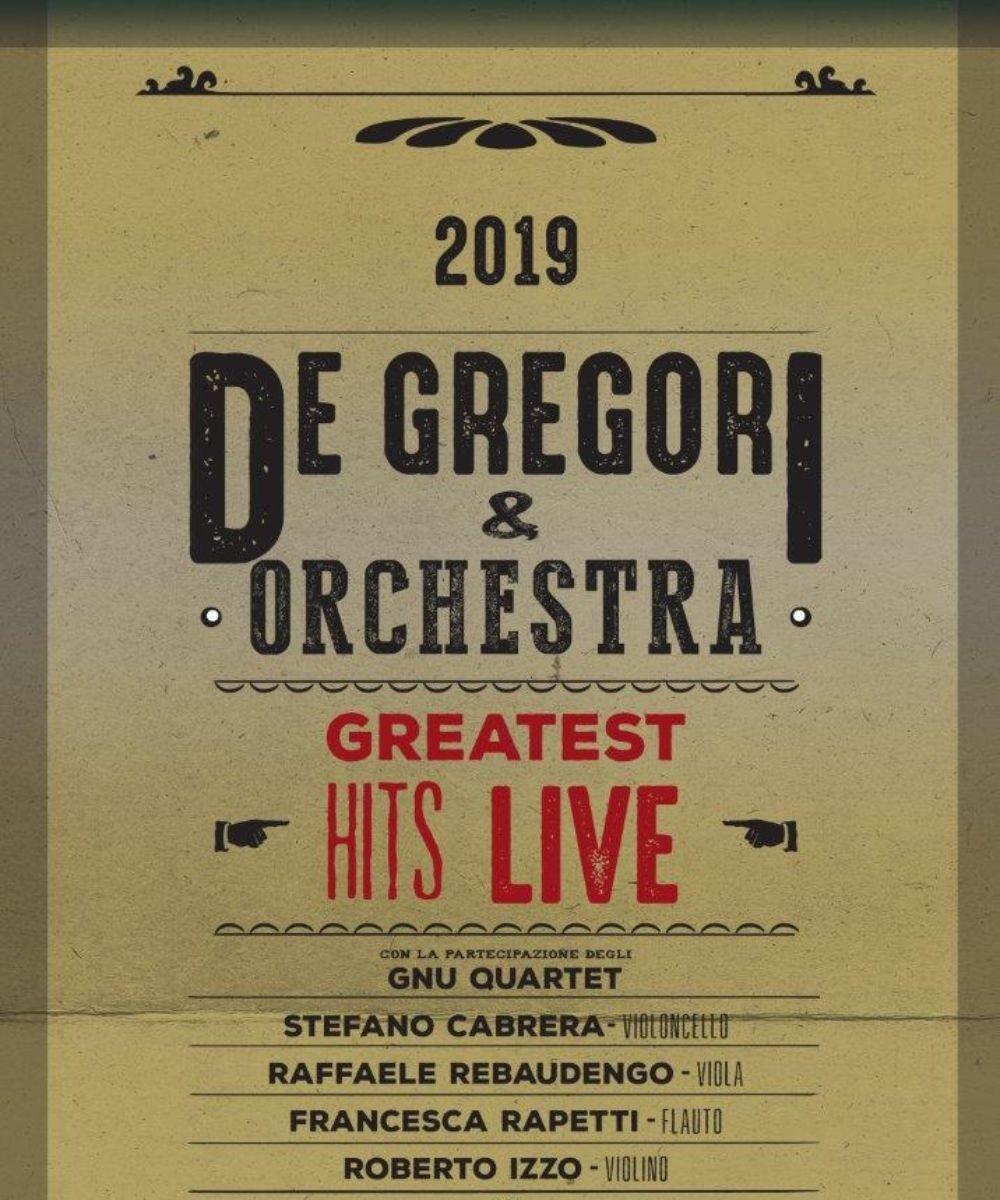 De Gregori & Orchestra - Greatest Hits Live