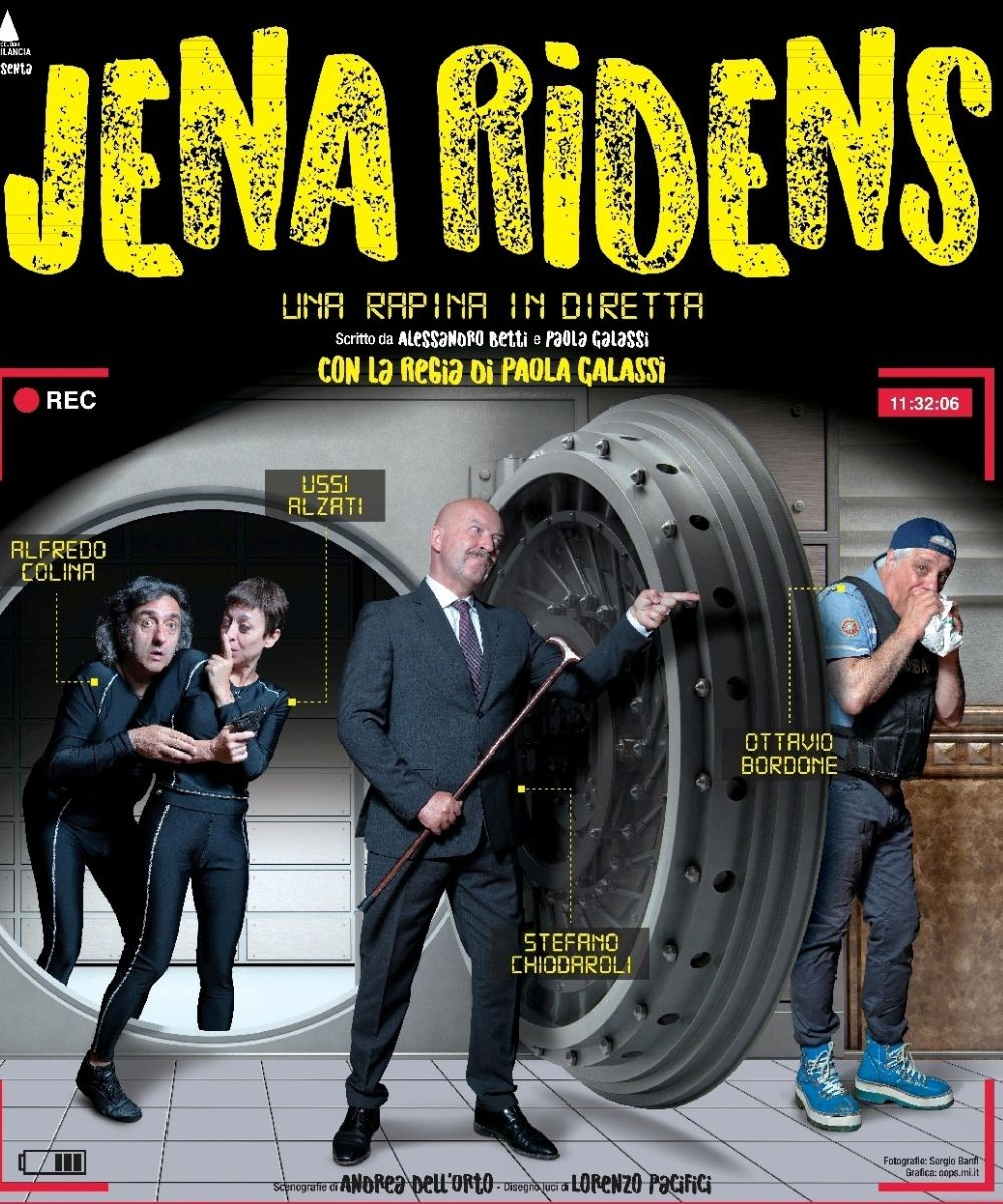 Jena Ridens - Una rapina in diretta