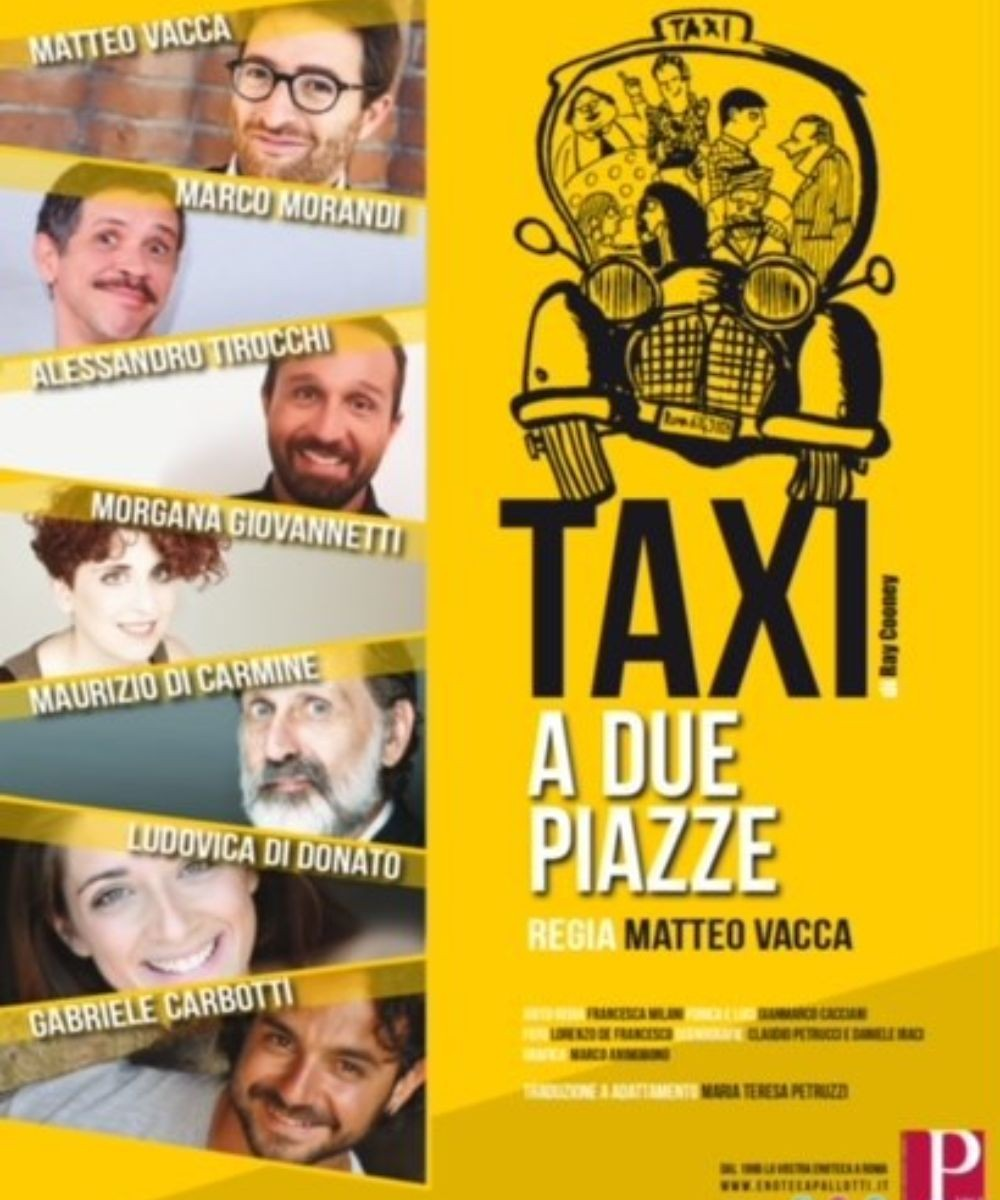 Taxi a due piazze