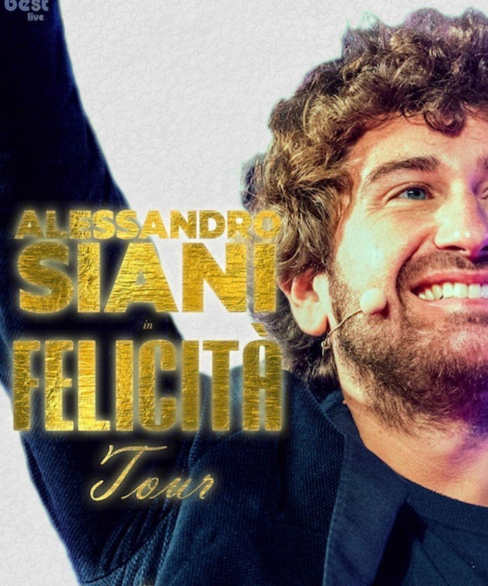 Alessandro Siani - Felicità Tour